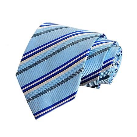 LG GL Corbata de Rayas para Hombre Corbata de Negocios Corbata ...
