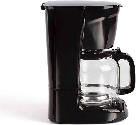 Cafetera negra con jarra de cristal para 15 tazas, función de ...
