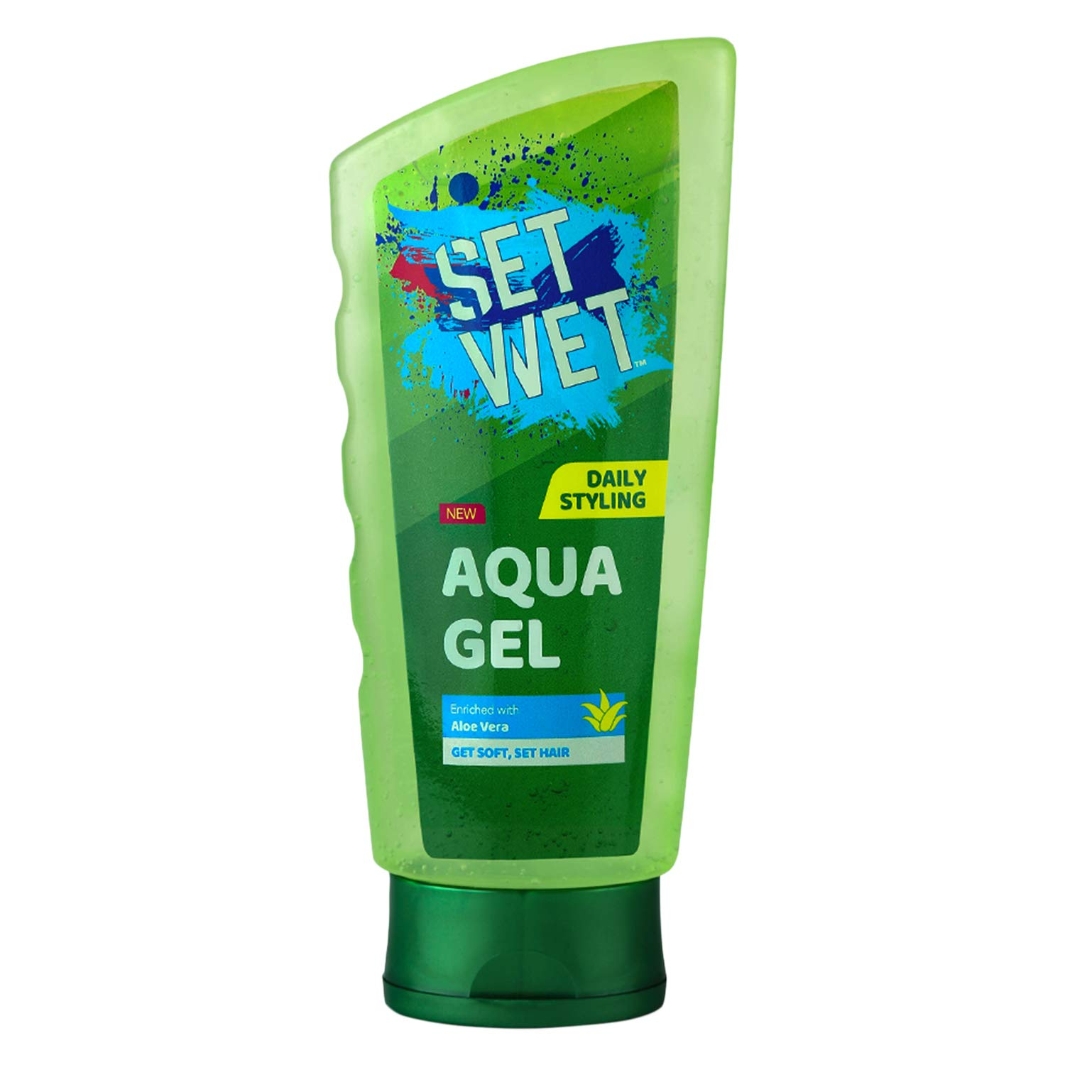 Set Wet Aqua Hair Gel, Enriched With Aloe Vera - 75 ml