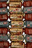 """Party Crackers, Christmas theme, pack of 8 10"""" crackers"""