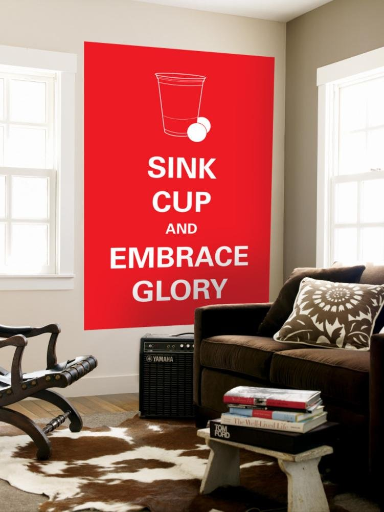 Sink Cup Wall Mural 48 x 72in by ART.COM PUBLISHING POD