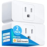 Meross Smart Plug Mini, 15A & Reliable WiFi, Support Apple HomeKit, Siri, Alexa, Echo, Google Assistant, Nest Hub and…