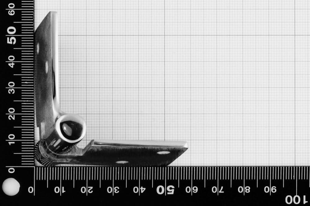 Charni/ère d/émontable 90x38mm AISI 316