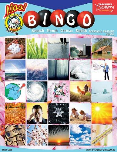 Weather Bingo (Seasons & Weather Bingo & Flashcard Set (2010))