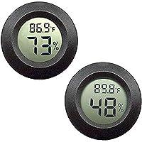 ZHITING Mini higrómetro Termómetro Monitor,LCD digital Medidor de humedad interior y exterior para humidificadores…