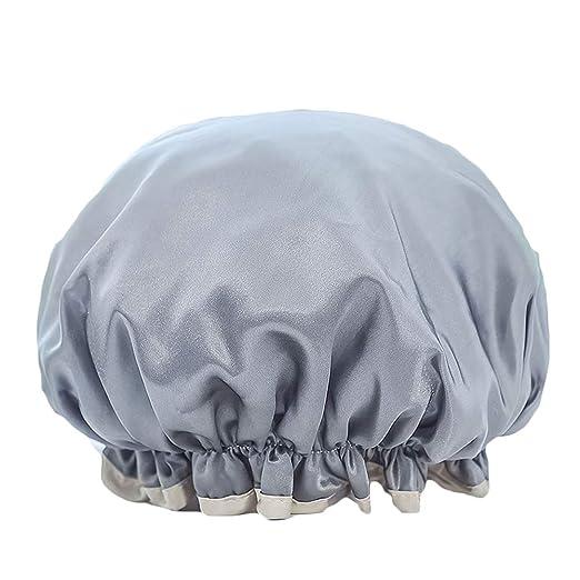 Shuda 1Pcs Gorros de Ducha Impermeable de Gorros para el Pelo de ...