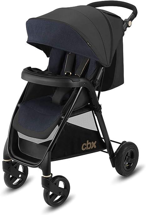 Opinión sobre Cbx Misu Air - Silla de paseo, ruedas hinchables, incluye cubierta para lluvia, desde el nacimiento hasta los 15 kg, Jeansy Blue