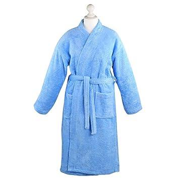 dc2b95b13f6c33 Mixitextil Bademantel Morgenmantel Saunamantel Kimono flauschig warm  elegant Wellness Sauna S-XL in 7 Farben