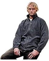 New Result Full zip Active Fleece Mens Polyester Jacket Coat Top XS-3XL