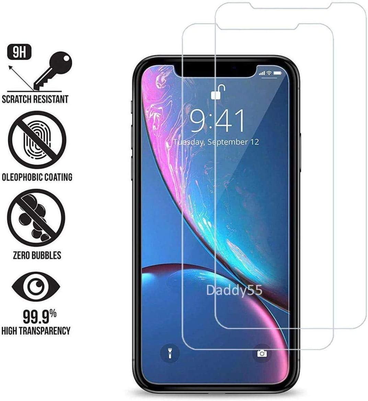 Ultra R/ésistant 2 Pi/èces 9H Duret/é Protection en Verre Tremp/é /Écran pour Huawei Y7 Prime 2019 Sans Traces de Doigts The Grafu Verre Tremp/é pour Huawei Y7 Prime 2019