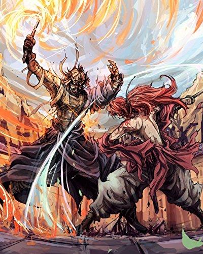 (Superior Posters Kenshin Rurouni Poster Samurai X Anime Home Decor Ruroni Jp Movie Art Japanese Himura 16x20 Inches)