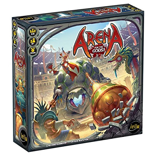 IELLO Arena for The Gods! Board Game (Best Gods For Arena)
