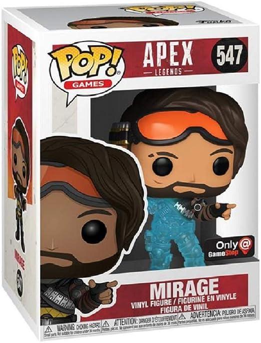 Apex Legends Vinyl Figure Gift Mirage Translucent US Exclusive Funko Pop