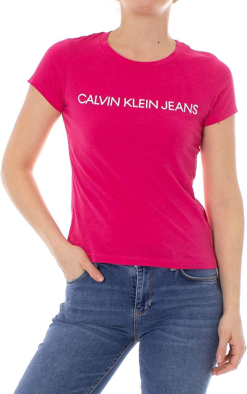 Calvin Klein Jeans T Shirt Femme Institutional Logo Slim Fit