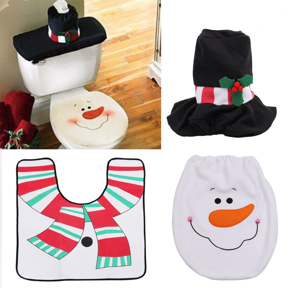 Best Toilet Tank Covers Christmas Decoration Santa Snowman Toilet Seat Cover    Rug Bathroom New Toiletbest Toilet Tank Covers Christmas Decoration Santa Snowman Toilet  . Best Toilet Seat Cover. Home Design Ideas