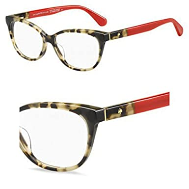 c44b2fe7b1 Image Unavailable. Image not available for. Color  Eyeglasses Kate Spade  Karlee 0O63 Havana Red