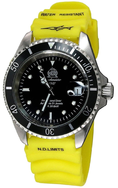 トーチマイスター1937 腕時計 20ATM 自動巻 日本製ムーブメント ダイビング T0006Y 並行輸入品 B01CNPQZSK