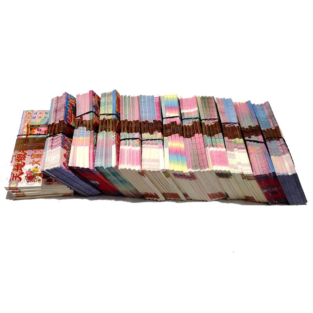 GXFC Ancestor Money, 2160 Piece Joss Paper Money Ghost Money, Hell Bank Notes for Funerals, The Qingming Festival and The Hungry Ghost Festival, in Honor of Ancestors Shop by GXFC