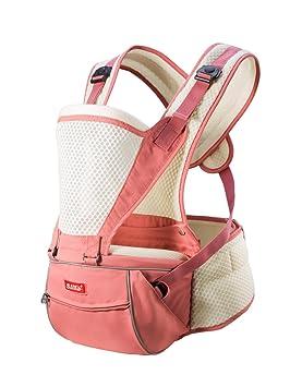 345ae48ecfb5 SUNVENO respirant infantile Écharpe porte-bébé Transporteurs Hipseat  ergonomie de transport avant et arrière (