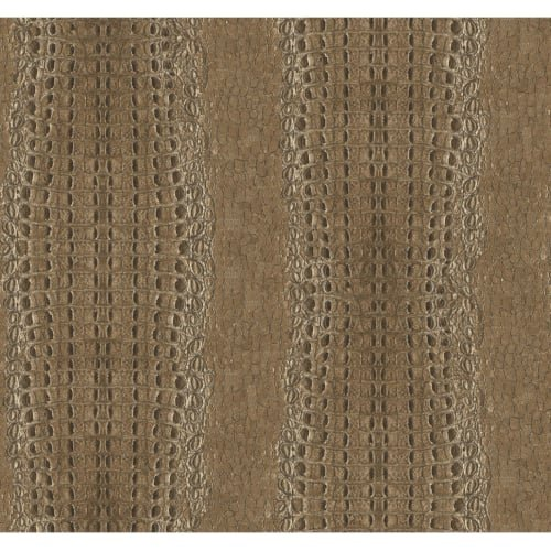 Crocodile Skin Wallpaper - York Wallcoverings MW9250 Menswear Crocodile Removable Wallpaper, Browns