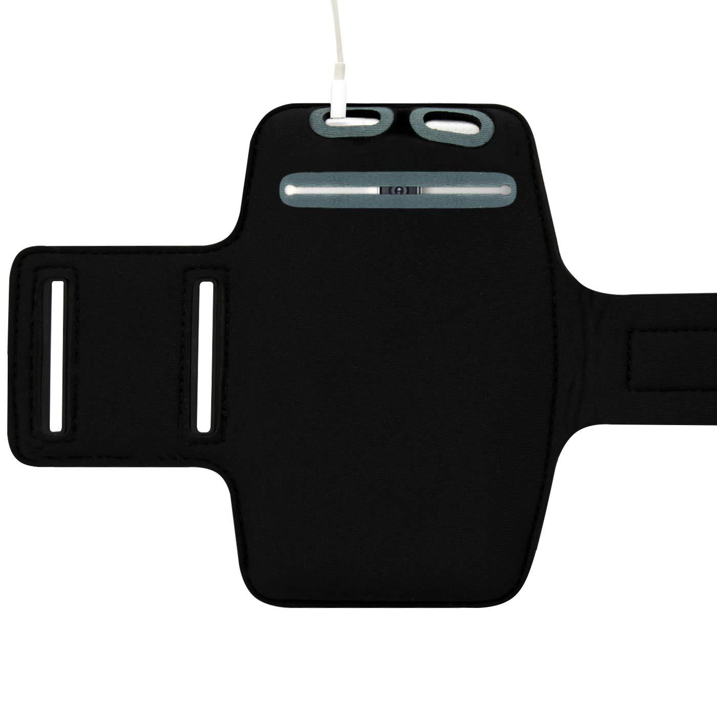 Schwarz F/ür Sony Xperia XA2 // XA // XA1 // Plus // XZ2 // XZ1 // XZ // Z5 // Z5 Premium // Z5 Compact Smartphone Sportarmband Zum Joggen Neopren Sporth/ülle bis 5,7 Zoll LetiStore Handy Sport Armband