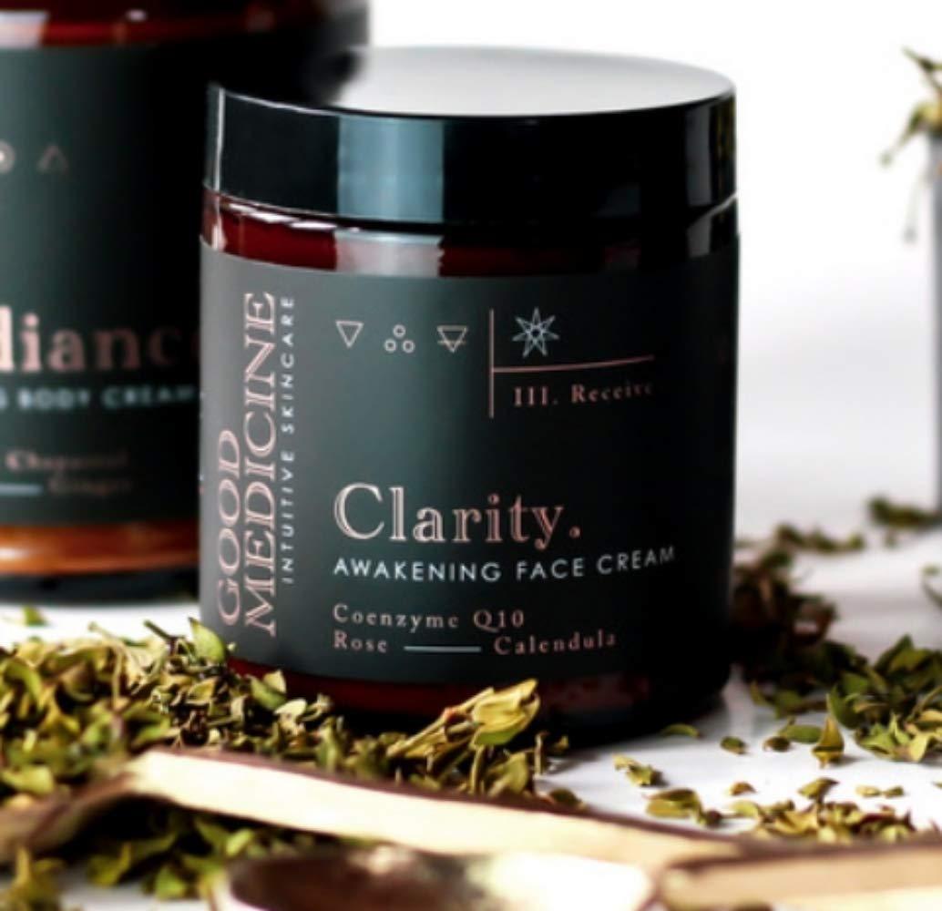 Good Medicine Beauty Lab Clarity Awakening Face Cream with CoQ10 4oz