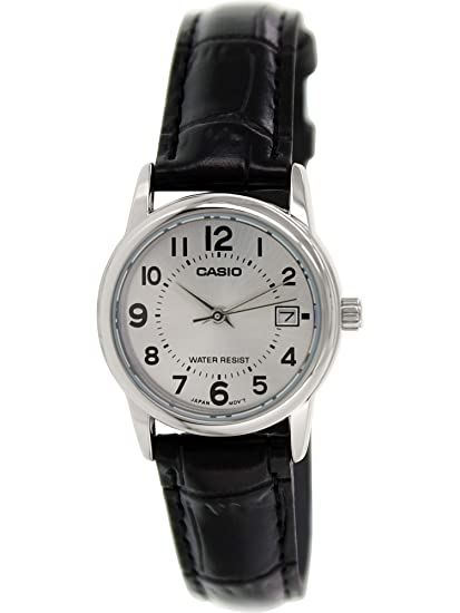 f17e09c5c7b1 Casio Reloj con Movimiento Cuarzo japonés Woman Ltp-V002L-7B 24.0 mm  Casio   Amazon.es  Relojes
