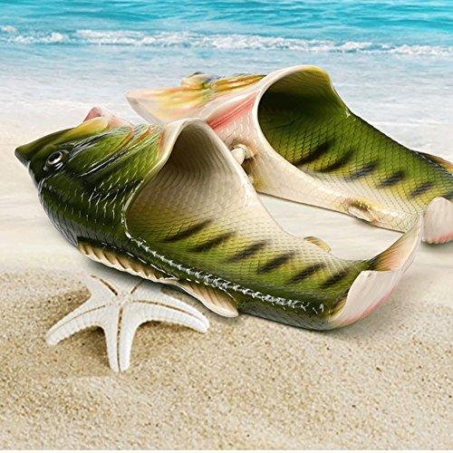 Sandales Décontractée Plates amp; Pour Simulation Été Plage Poisson Antidérapant Homme Piscine Créatif Chaussons Femme Maison Chaussures tTwSqWav