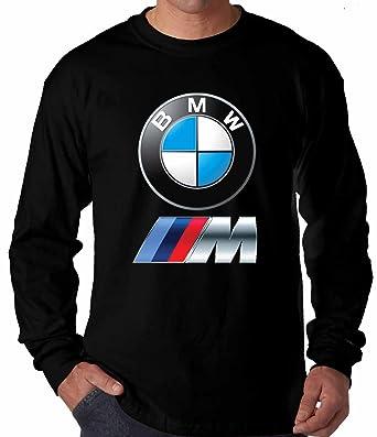 Herren T-Shirt BMW Logo Langarm ( Schwarz , 2XL )  Amazon.de  Bekleidung 1ef6b07eab
