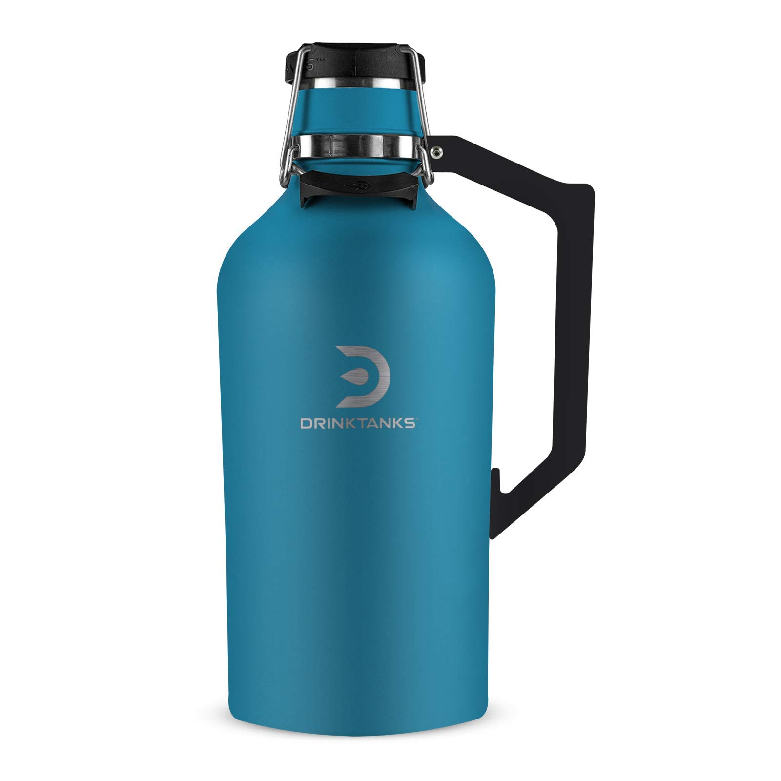 DrinkTanks 128 oz Vacuum Insulated Stainless Steel Beer Growler
