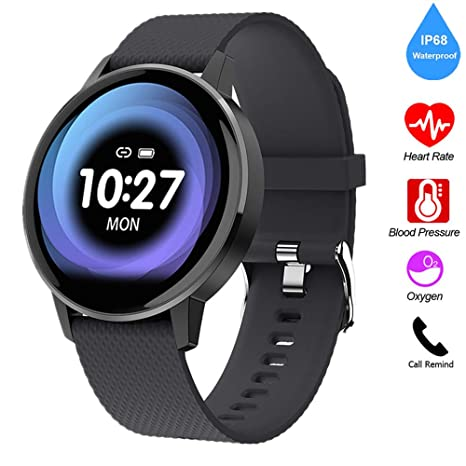 Amazon.com: QUARKJK Fitness Tracker Smart Watch Women Men ...
