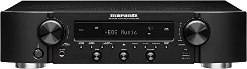 Marantz NR1200 AV Receiver 2019 Model 2-Channel Home Theater Amp Wi-Fi, Bluetooth, Heos Alexa Immersive Movies, Music Gaming Auto Low Latency Mode for Xbox One Smart Home Automation