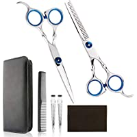 Professional Home Hair Cutting Kit - Quality Home Hair cutting Scissors Barber/Salon/Home Thinning Shears Kit with Comb…