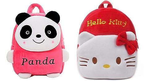 Minitrees Cute Pink Panda   Red Hello Kitty Combo Pack Kids School ... 9101943a78cb3