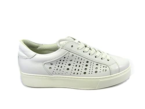 Andrea Morelli - Zapatillas de Piel para mujer blanco Size: 36: MainApps: Amazon.es: Zapatos y complementos