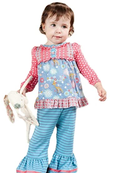 18c3560fe968a Amazon.com: Matilda Jane Nap Time Pajama PJ Reindeer Once Upon A ...