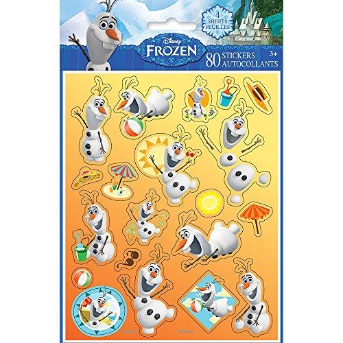 Disney Frozen Olaf Sticker Sheets, 4ct -