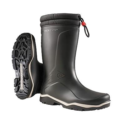 TALLA 45 EU. Dunlop Protective Footwear (DUO18) Dunlop Blizzard, Botas de Agua Unisex Adulto, Black, 45 EU