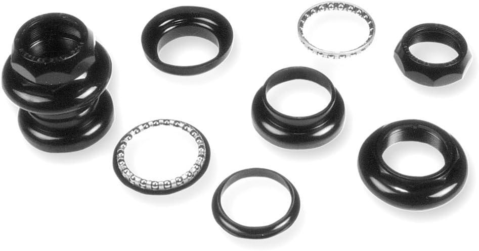 26,4 V PARTS JD293 Juego direccion A-HEAD aluminio rodamientos negro 1 pulgada