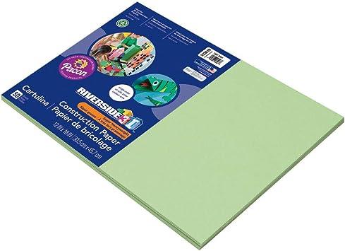 50 Sheets Light Blue 9 x 12 Riverside 3D Construction Paper