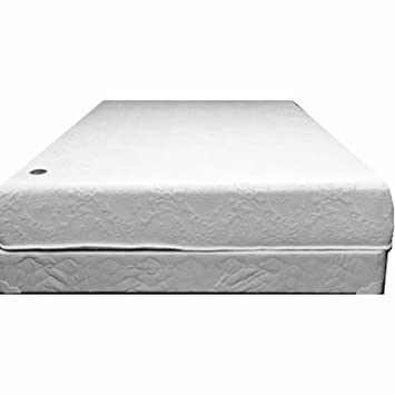 14 inch flippable double sided memory foam u0026 high density foam mattress cal king