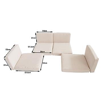 Fundas de cojín para sillones de mimbre y ratán, de Outsunny ...