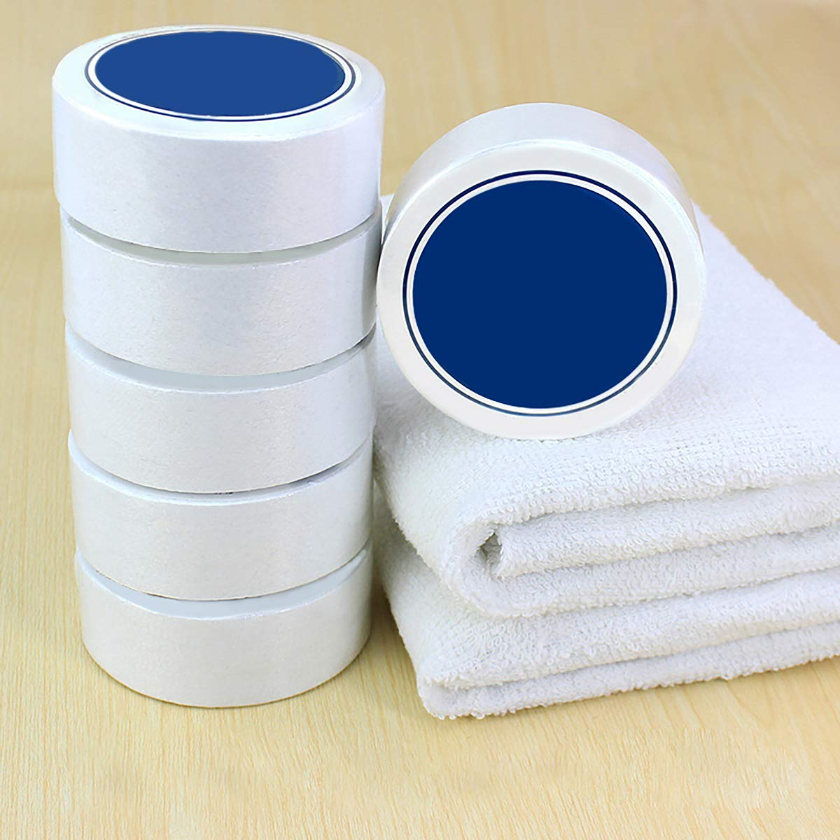 12 Pack Cotton Compressed Towels White Reusable Compressed Towels Tablets