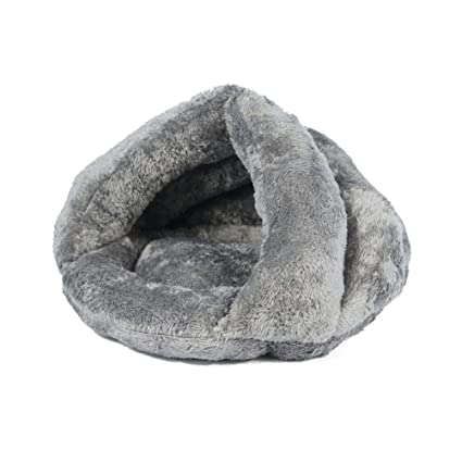 GCHOME Cama de Perro Cama para Gatos, Material de Felpa cómodo Estera para Camas para