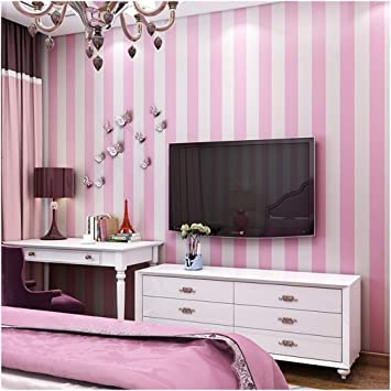 Blooming Wall Modern Stripes Peel And Stick Paint Wallpaper Self