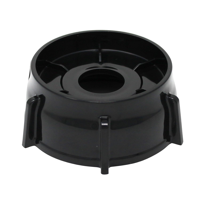 Replacement Oster 148381-000-090 Blender Jar Bottom Cap for Oster 4094, BRLY07 B, BCBG08 C, 6843, 6650, 6878 Blender