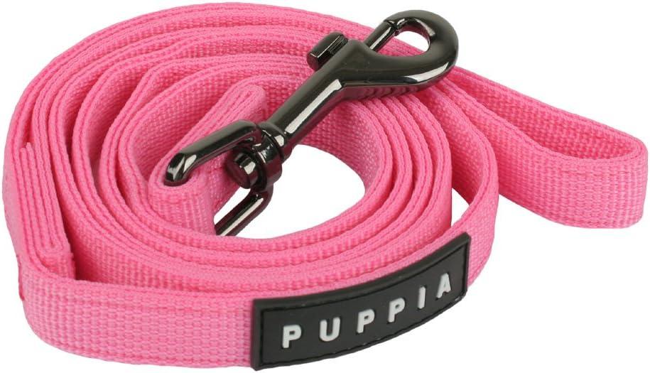 Puppia Nylon Lead Soft Dog Collar Purple Small