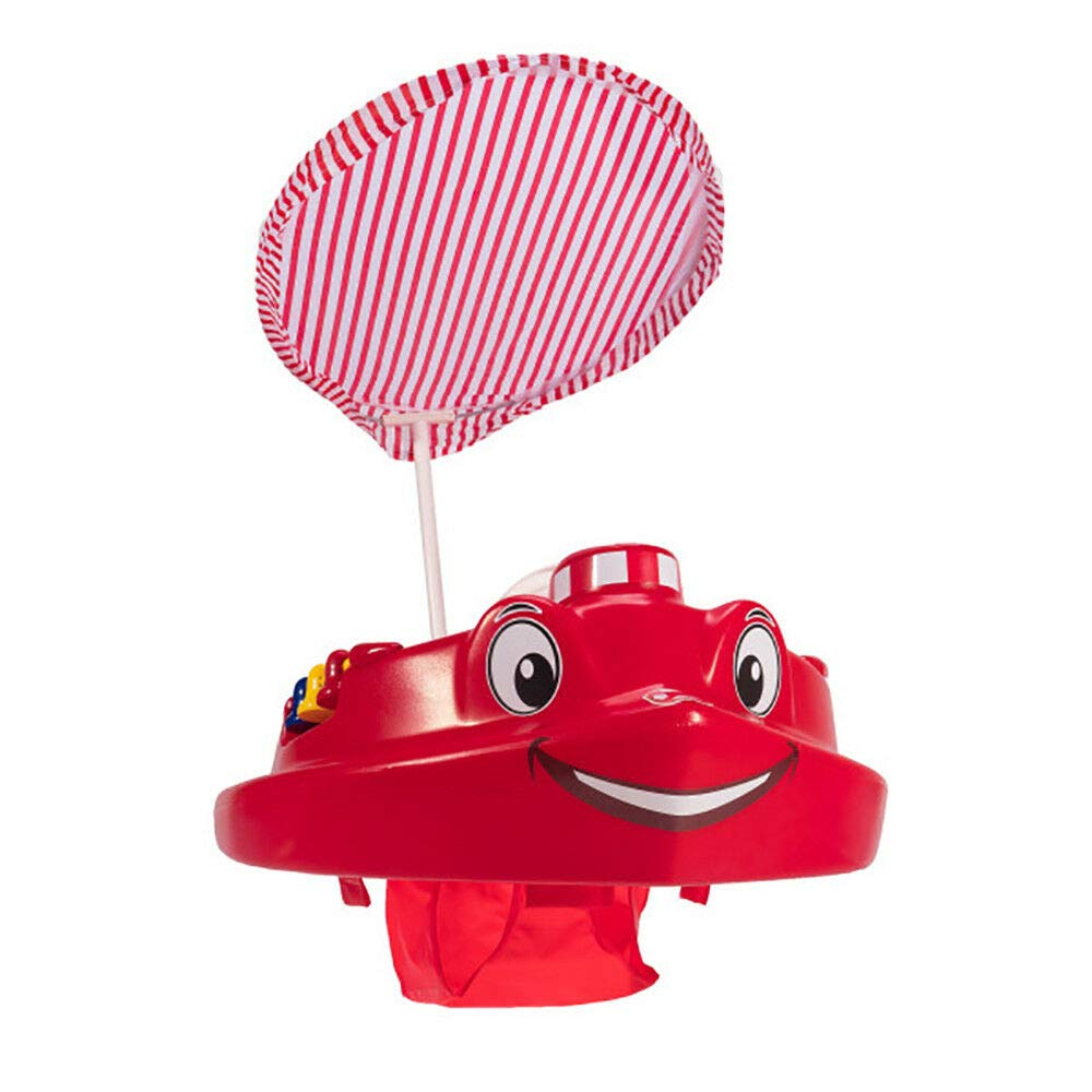 MRT SUPPLY Plastic Baby Swimming Pool Tug Boat Float with Toys and Canopy (2 Pack) with Ebook by MRT SUPPLY (Image #9)