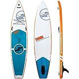 Boardworks Surf SHUBU X-Rocket Inflatable Stand Up Paddleboard 2016 - 11ft 6in./White-Orange