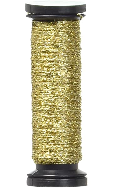 VF-032 Kreinik Very Fine Metallic Braid #4 12yd-Pearl